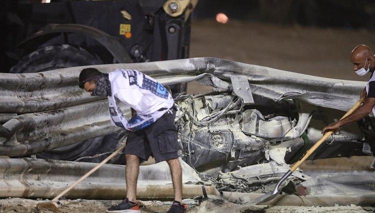 Grosjean óriási balesete