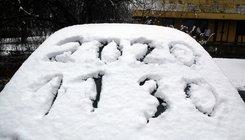 Esett a hó Miskolcon